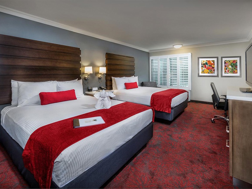 Deluxe Room With 2 Queen Bed at Our Hotel in Anaheim
